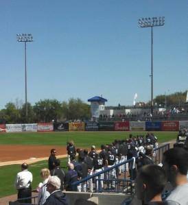 Yankees line-up
