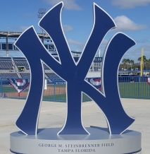 Steinbrenner Field, picture courtesy of author